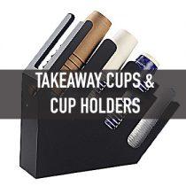 แก้วกาแฟ Takeaway, ชั้นวาง (Takeaway Cups & Holders)