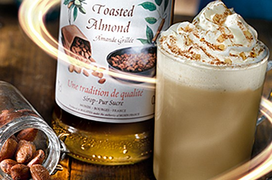 MONIN Recipe: Toasted Almond Iced Latte