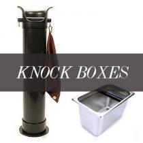 อ่างเคาะกากกาแฟ (Knockbox & Knock Tubes)