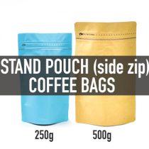 ถุงทรง Stand Pouch (ซิปข้าง+valve)
