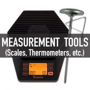 ตาชั่ง, เทอร์โมมิเตอร์ (Pourover Coffee Measurement Tools)