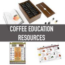 อุปกรณ์ สื่อการเรียนเรื่องกาแฟ (Coffee Education Resources)