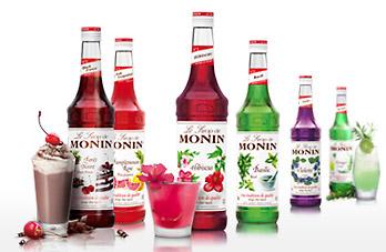 MONIN Logo - Syrups - Pic