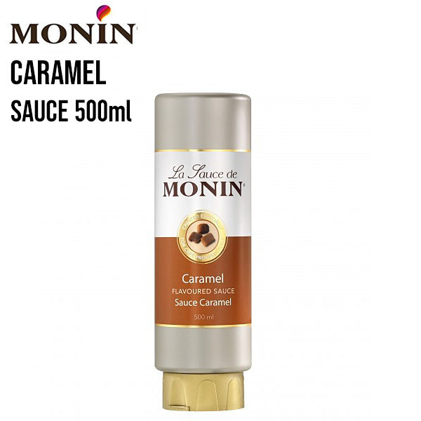 Monin Caramel Sauce 500ml The Home Barista