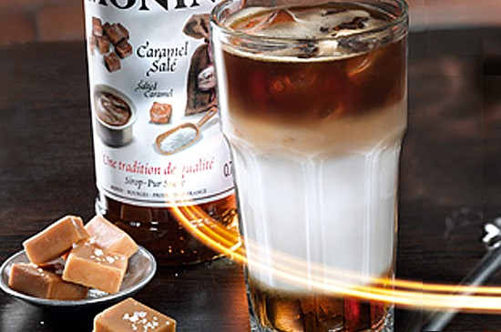 MONIN Recipe: Salted Caramel Iced Latte