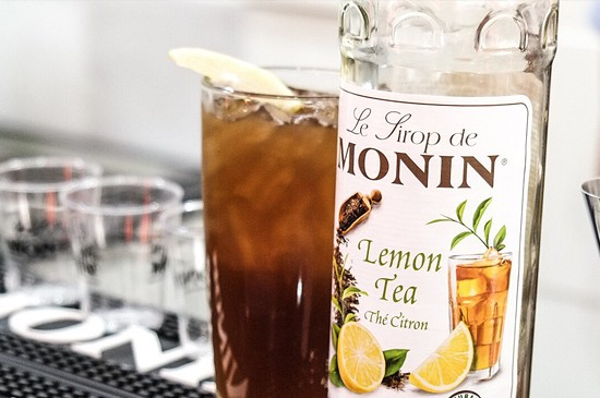 MONIN Recipe: Iced Lemon Tea