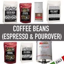 กาแฟ (COFFEE สำหรับ Espresso & Hand drip, Beans, เมล็ด, แคปซูล)