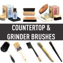 แปรงปัดผงกาแฟ (Countertop & Grinder Brushes)